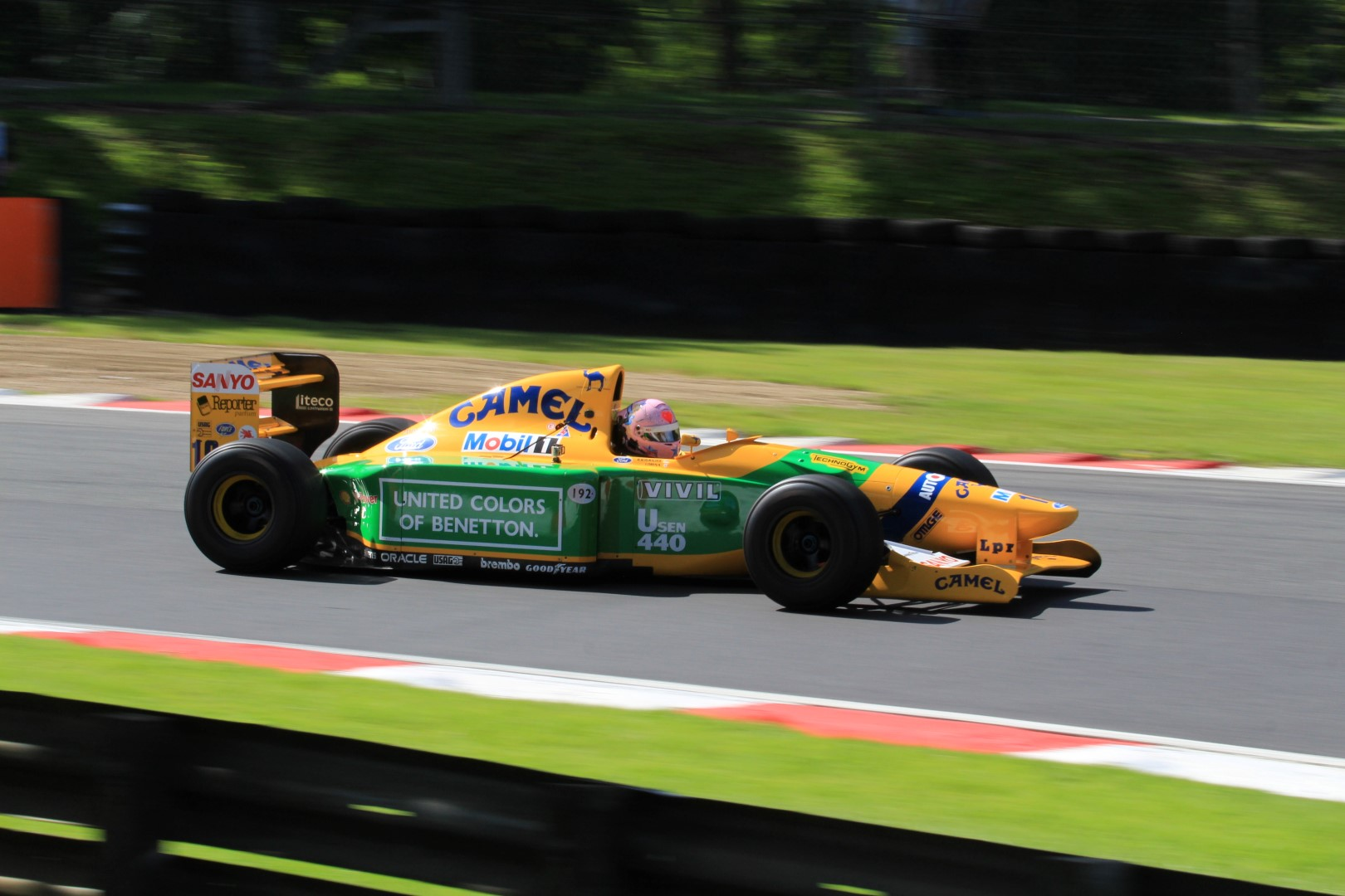 Ex Michael Schumacher 1992 Benetton B192 Formula 1 car to be exhibited at Motors By The Sea Festival on Sunday 16thSeptember.