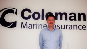 Dean Shaw welcomed to Coleman Marine Insurance team