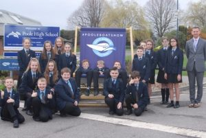 Poole High School partners with the Poole Harbour Boat Show