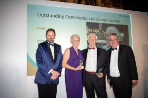 Outstanding contributions to Dorset Tourism recognised at Awards ceremony, presented by Saffery Partner Nick Fernyhough
