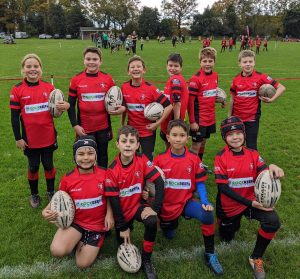 RockReef on Bournemouth Pier renews partnership with Bournemouth Rugby club and sponsors U11's Rugby Team