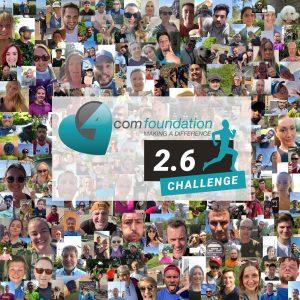 4Com raises over £12,000 in 2.6 Challenge