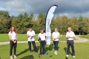 The Dorset Golf & Country Club Captains nominate MYTIME Young Carers as the club's chosen charity of the year