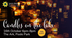 Lewis-Manning Hospice Care is celebrating and remembering lives with a community event – 'Candles on the Lake' at Poole Park